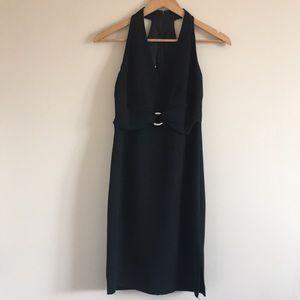 Donna Morgan | Petites Black Dress Razorback 6P